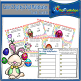 Easter 2 Digit By 2 Digit Multiplication Task Cards With R