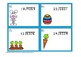 Easter 2 Digit Long Division with Remainders Task Cards