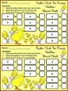 Easter Activities: Easter Chick Easter Ten Frames Spring Math Activity Packet