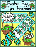 Easter Activities: Easter Egg Easter Ten Frames Spring Math Activity Packet