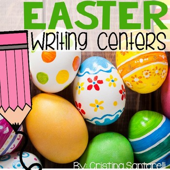 Easter Activities: Easter Vocabulary Booklet
