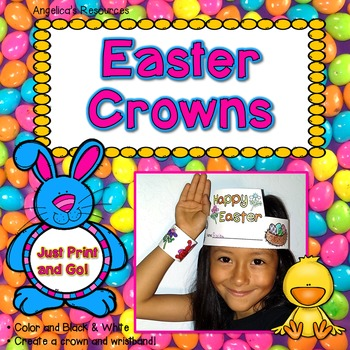 Easter Activities : Crowns and Wristbands - Easter Craft