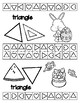 Easter - 26 Shape Hole Punch Cards / Bingo Dauber Pages