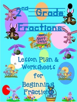 2nd Grade Fractions for Easter