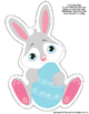 Easter 4-in-1 streamers/borders and FREE coloring pages and mobile