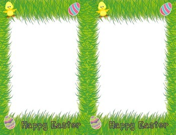 Easter 4X6 Picture Frames