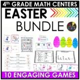Easter 4th Grade Math Centers BUNDLE