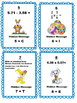Easter Math Review Scavenger Hunt Common Core