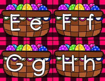 Easter ABC Letter Match