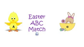 Easter ABC Match--FREEBIE