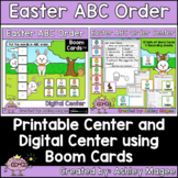 Easter ABC Order Center - Printable and Digital or Distanc