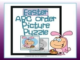 Easter ABC Order Puzzle