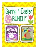 Easter AND Spring Activities Units BUNDLED!!