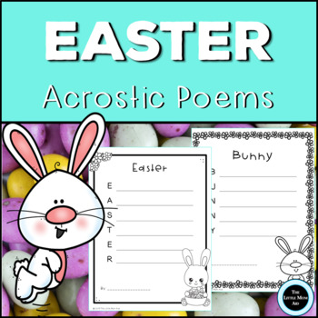 Easter Acrostic Poems Creative Writing Activity