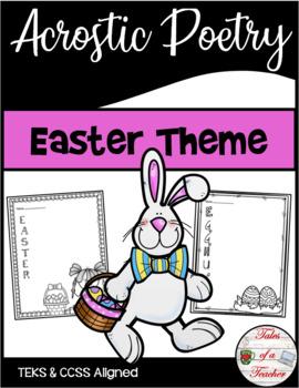 Easter Acrostic Poetry