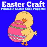 Easter Craft | Preschool Kindergarten | Puppet Activity