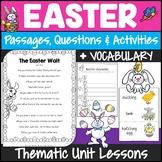 Easter Reading Comprehension 3rd Grade