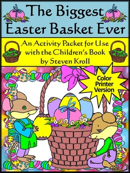 Easter Reading Activities: The Biggest Easter Basket Ever Activity Packet