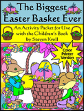 Easter Reading Activities: Biggest Easter Basket Ever Acti