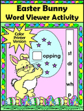 Easter Spelling Activities: Easter Bunny Word Viewer Langu