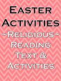 Religion Education Story of Jesus Catholic Religion Activities Easter Reading