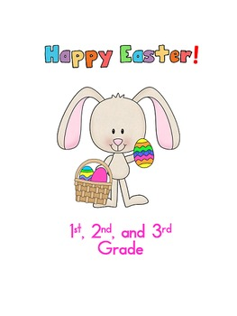 Easter Activities 1st, 2nd, and 3rd Grade