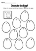 Easter Activities - Addition, Geometry, Patterns, Counting