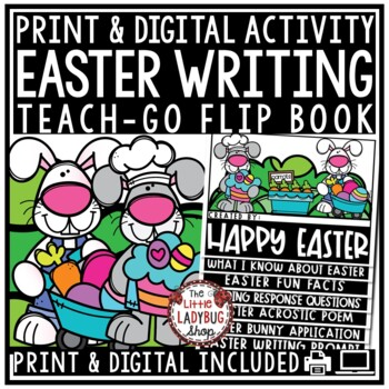 Easter Writing Activity- Easter Flip Book Craftivity
