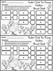 Spring Activities: Chick Spring Ten Frames Math Activity Packet