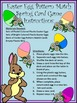 Easter Game Activities: Easter Egg Pattern Match Card Game Activity