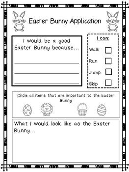 Easter Activities No Prep Packet (Grades 1-3)