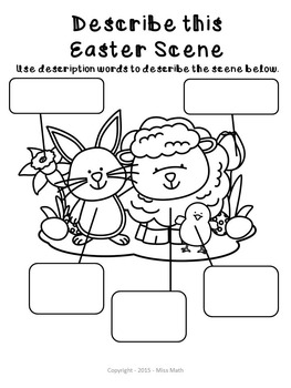 Easter Activities No Prep Packet (Grades 1-3)