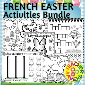 FRENCH Easter Activities