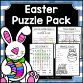 Easter Activities - Math & Literacy Puzzles | Early Finishers