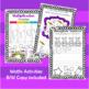 Third Grade Easter Activities Booklet!!!