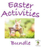 Easter Activities Bundle for Early Education and Montessor
