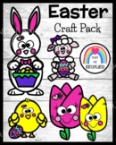 Easter, Spring Craft Activities: Bunny, Chick, Lamb, Tulip for Centers