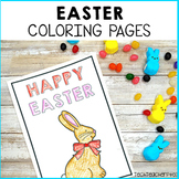 Easter Activities Coloring Pages Pack