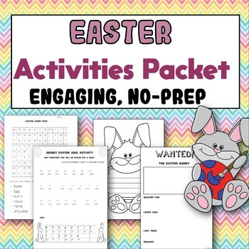Easter Activities: Creative and No-Prep
