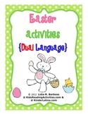 Easter Activities-Dual Language