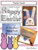 Easter Activities: Easter Crafts: FREE Easter Cards