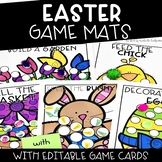Easter Activities | Editable Content Game Mats