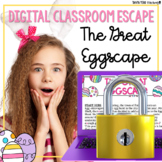 Easter Activities Google Classroom Digital Escape Room HOLIDAY FUN