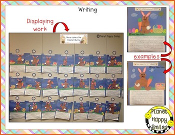 Easter Activities ~ Here's a Little Bunny:  Poetry and Writing