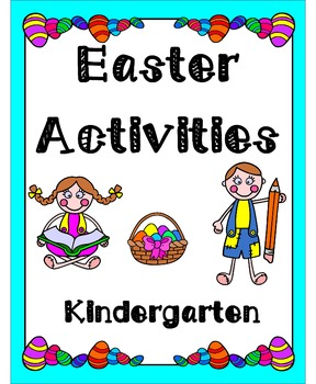 Easter Activities K-3 Bundle (Literacy & Math)