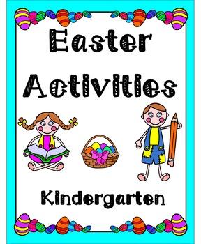 Easter Activities Kindergarten (Literacy & Math)