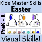 Easter Visual Perception Activities