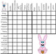 Easter Activities : Logic Puzzle About The Easter Bunny and Friends