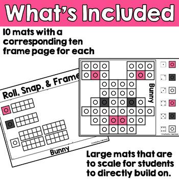 Easter Activities Math Center Snap Cubes