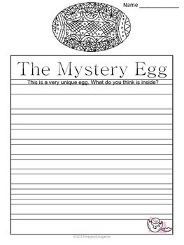 Easter Activities - Math and Literacy Fun Grades 4 - 8